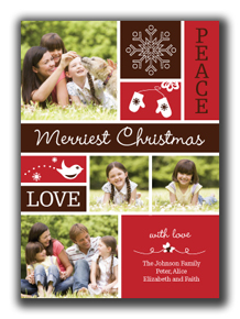 Charming Christmas Photo Card