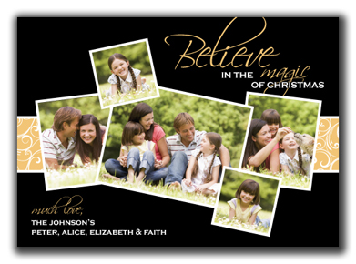 Image of Magical Christmas Photo Card