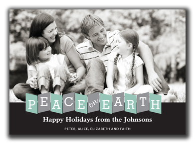 Peace on Earth Photo Card