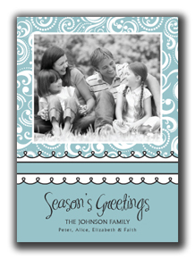 Seasons Greetings Photo Card